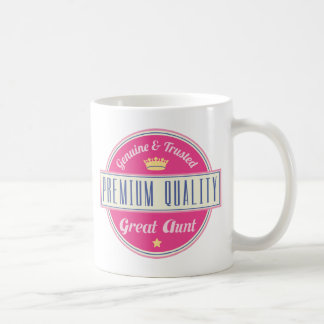 Genuine and Trusted Premium Great Aunt Coffee Mug