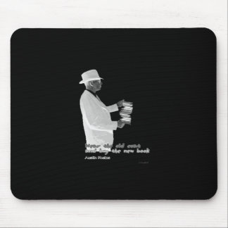 Genuine Booklover Mouse Pad