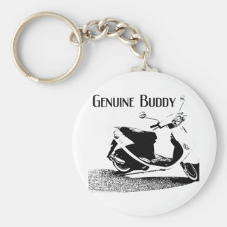 Genuine Buddy Black Keychain