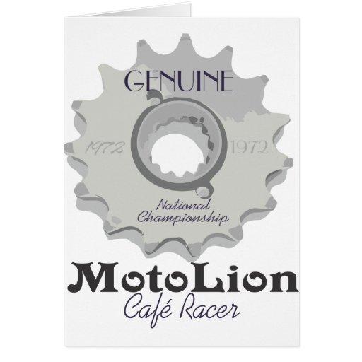Genuine Cafe Racer Cards