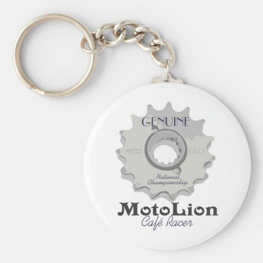Genuine Cafe Racer Keychain