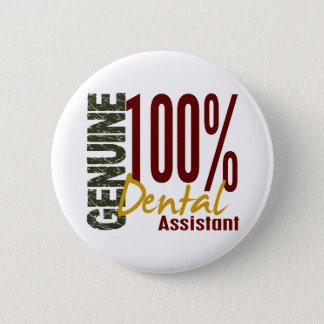 Genuine Dental Assistant 2 Inch Round Button