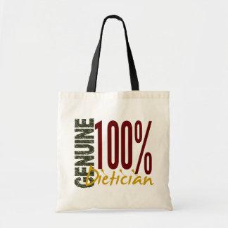 Genuine Dietician Canvas Bag