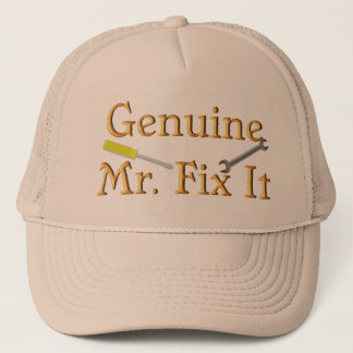 Genuine Mr. Fix It Trucker Hat