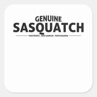 Genuine Sasquatch Sticker