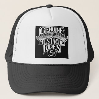 GenuineMustacheRides.jpg Trucker Hat