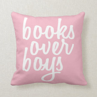 GENYOLO Books Over Boys Pillow