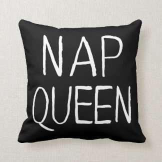 GENYOLO Nap Queen Pillow Black and White
