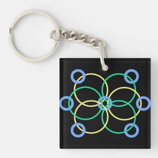 Geo 1 keychain