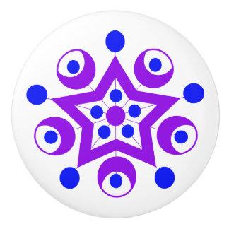 Geo 3 ceramic knob