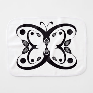 Geo Butterfly Burp Cloth