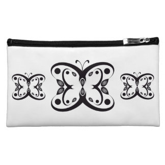 Geo Butterfly Cosmetic Bag