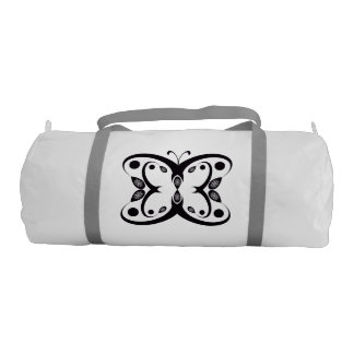 Geo Butterfly Gym Bag