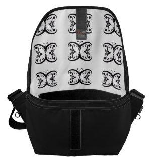 Geo Butterfly Messenger Bag