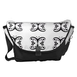 Geo Butterfly Messenger Bags