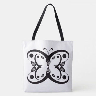 Geo Butterfly Tote Bag