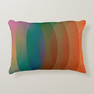 Geo Color Pattern Accent Pillow