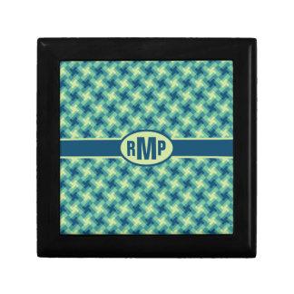 Geo Cross Pattern Gift Box