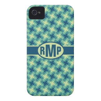 Geo Cross Pattern iPhone 4 Case-Mate Cases