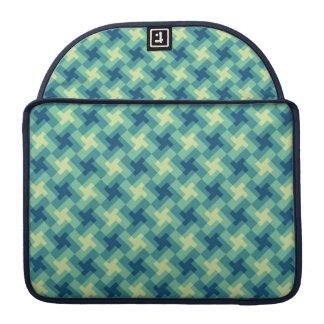 Geo Cross Pattern Sleeve For MacBook Pro