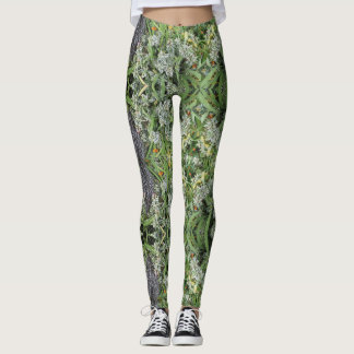 Geo-Fern Yoga Pants