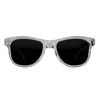 Geo Lines Pattern Sunglasses