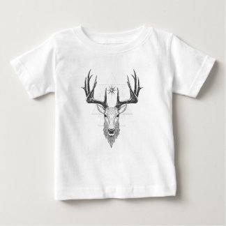 Geo Stag Baby T-Shirt