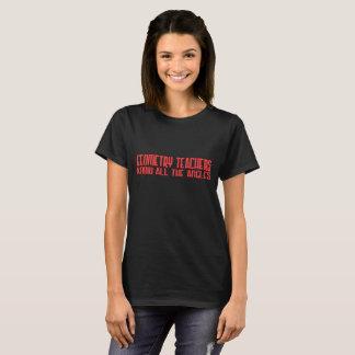 Geo Teacher Angle Red T-Shirt