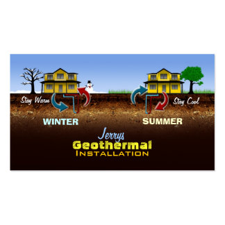 Geo thermal Energy Business Cards
