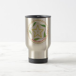 GEOART STAR INDIANA GEOCACHING TRAVEL MUG