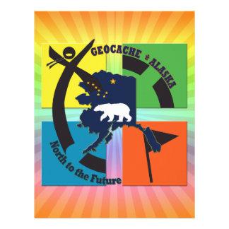GEOCACHE ALASKA- NORTH TO THE FUTURE LETTERHEAD