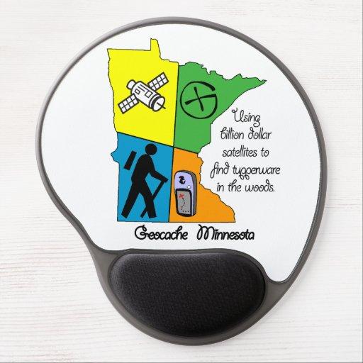 Geocache Minnesota Gel Mousepad