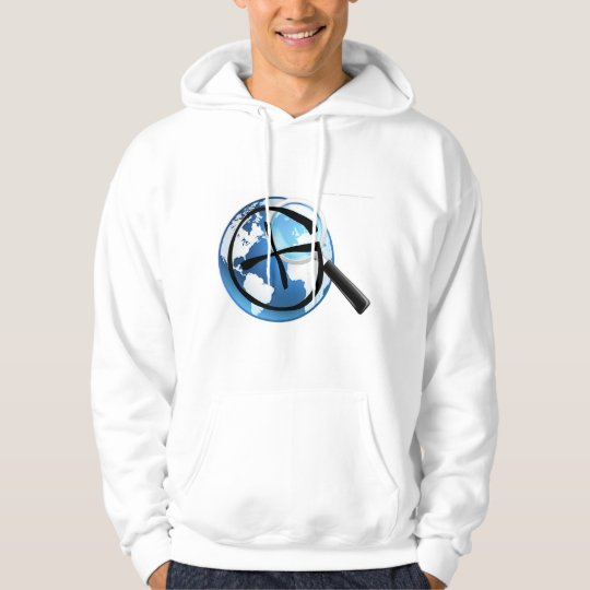 Geocache Searching the World Hoodie