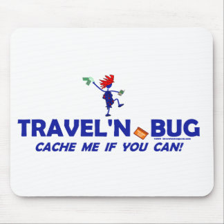 Geocache Travel'n Bug Mouse Pads
