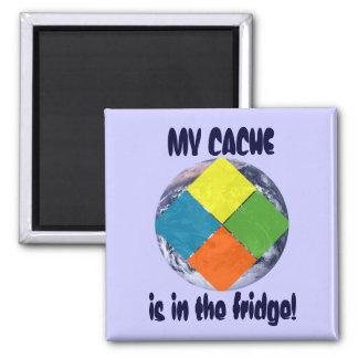GeoCache World Magnet