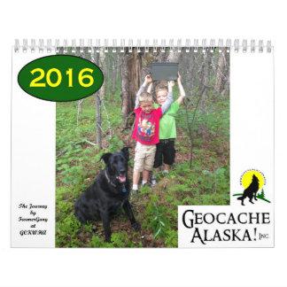 GeocacheAlaska! 2016 Calendar