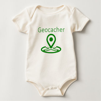 Geocacher Baby Bodysuit
