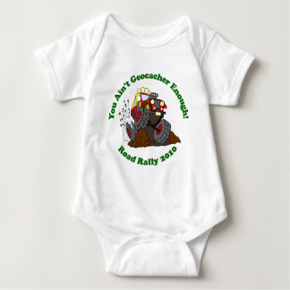 Geocacher Enough 2010 Road Rally Baby Bodysuit
