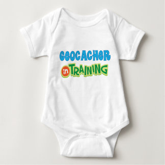 Geocacher in Training Kids Shirt
