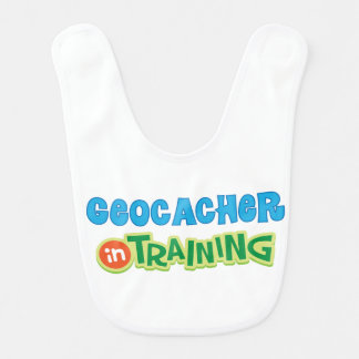 Geocacher in Training Kids Shirt Bibs