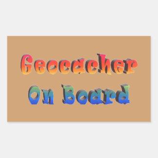 Geocacher On Board Sticker