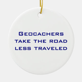 Geocachers Christmas Ornament