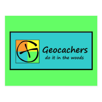 Geocachers Postcard