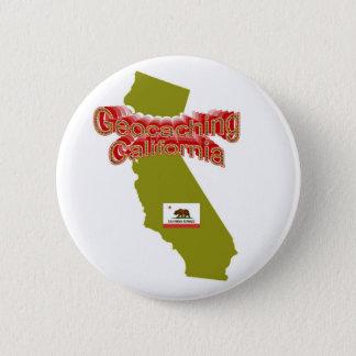 Geocaching California Button