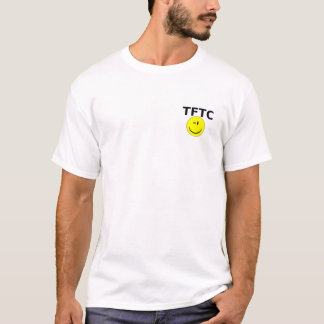 Geocaching Geocache TFTC Wink Smiley Tshirt