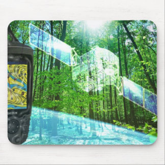 Geocaching mouse pad