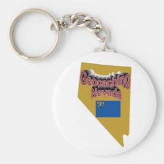 Geocaching Nevada Key Chain