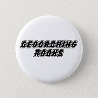 Geocaching Rocks 2 Inch Round Button