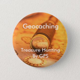 Geocaching Treasure Hunting By GPS Swag Pin