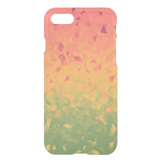 Geoemtric Ombre Watermelon iPhone 7 Case